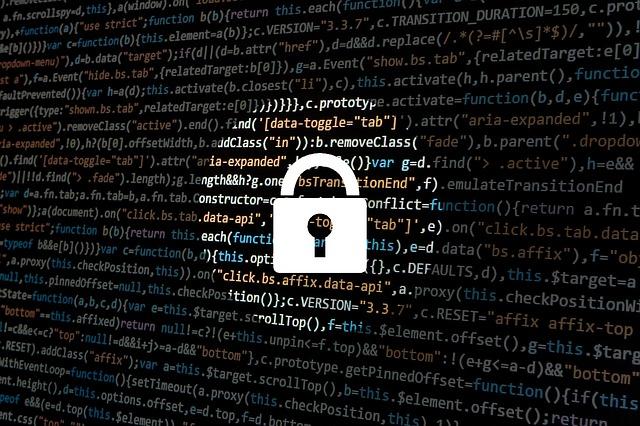 kybernetická bezpečnost a zámek
